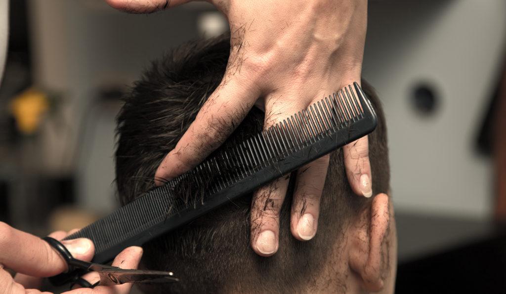Coupe de cheveux en dégradé