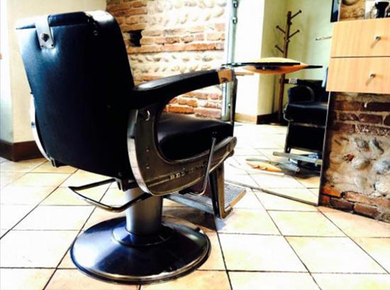 photo du salon de coiffure pour homme d'Anthony