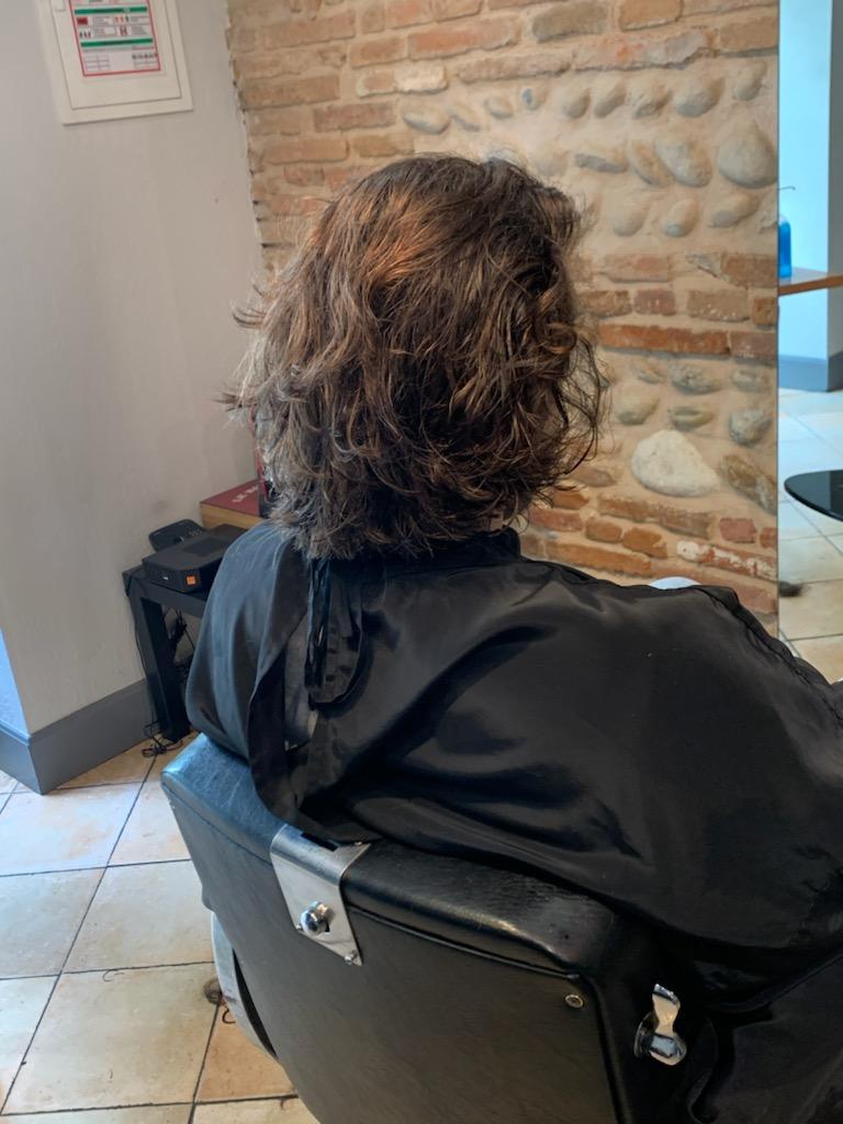 Coupe de cheveux longs